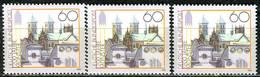 A12-23-6) BRD - 3x Mi 1645 - ** Postfrisch (A) - 60Pf        1200 Jahre Münster - BRD