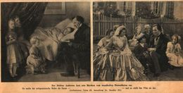 Der Dichter Andersen Liest Sein Märchen Vom Standhaften Zinnsoldaten Vor (Gemälde+Film) /Druck Aus Zeitschrift /1916 - Bücher, Zeitschriften, Comics