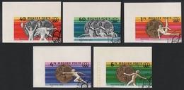 Ungarn 1976 - Mi-Nr. 3164-3168 B Gest / Used - Olympia Montreal - Hongrie