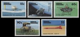 Grenada-Grenadinen 1987 - Mi-Nr. 887-891 ** - MNH - Verkehrsmittel - Grenade (1974-...)