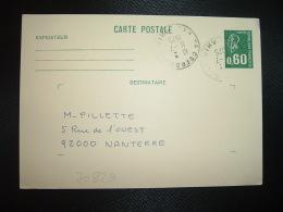 CPE M.DE BEQUET 0,60 OBL.11-7 1975 68 OBERBRUCK HAUT-RHIN - 1971-76 Marianne Of Béquet