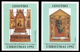 Lesotho 1992 - Mi-Nr. Block 94-95 ** - MNH - Weihnachten / X-mas - Lesotho (1966-...)