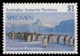 AAT / Austral. Antarktis 1984 - Mi-Nr. 72 ** - MNH - SPECIMEN - Pinguine - Territoire Antarctique Australien (AAT)