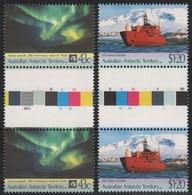 AAT / Austral. Antarktis 1991 - Mi-Nr. 88-89 ** - MNH - Gutter - Schiffe / Ships - Territoire Antarctique Australien (AAT)