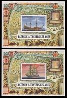 Burkina Faso 1999 - Mi-Nr. Block 188-189 ** - MNH - Schiffe / Ships - Burkina Faso (1984-...)