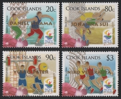 Cook-Inseln 2009 - Mi-Nr. 1614-1617 ** - MNH - Sportspiele - Cook