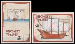Grenada-Grenadinen 1991 - Mi-Nr. Block 217-218 ** - MNH - Schiffe / Ships - Grenade (1974-...)