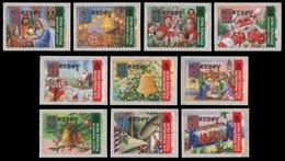 Jersey 2002 - Mi-Nr. 1002-1011 II ** - MNH - Weihnachten / X-mas - Grande-Bretagne