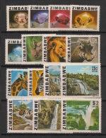 Zimbabwe - 1980 - N°Yv. 1 à 15 - Série Complète - Neuf Luxe ** / MNH / Postfrisch - Zimbabwe (1980-...)