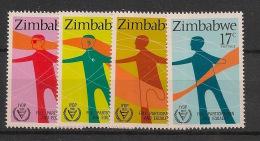 Zimbabwe - 1981 - N°Yv. 25 à 28 - Handicap - Neuf Luxe ** / MNH / Postfrisch - Zimbabwe (1980-...)