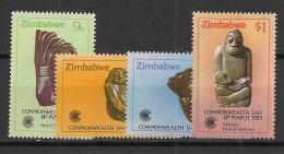 Zimbabwe - 1983 - N°Yv. 45 à 48 - Commonwealth Day - Neuf Luxe ** / MNH / Postfrisch - Zimbabwe (1980-...)