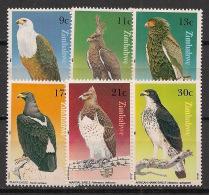 Zimbabwe - 1984 - N°Yv. 71 à 76 - Aigles - Neuf Luxe ** / MNH / Postfrisch - Zimbabwe (1980-...)
