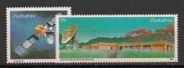 Zimbabwe - 1985 - N°Yv. 81 à 82 - Station Mazowe - Neuf Luxe ** / MNH / Postfrisch - Zimbabwe (1980-...)