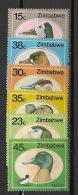 Zimbabwe - 1988 - N°Yv. 164 à 169 - Faune / Canards - Neuf Luxe ** / MNH / Postfrisch - Zimbabwe (1980-...)
