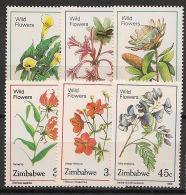 Zimbabwe - 1989 - N°Yv. 174 à 179 - Flore / Fleurs - Neuf Luxe ** / MNH / Postfrisch - Zimbabwe (1980-...)