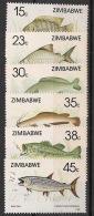 Zimbabwe - 1989 - N°Yv. 180 à 185 - Faune / Poissons - Neuf Luxe ** / MNH / Postfrisch - Zimbabwe (1980-...)