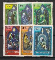 Zimbabwe - 1994 - N°Yv. 306 à 311 - Noel - Neuf Luxe ** / MNH / Postfrisch - Zimbabwe (1980-...)