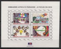 Zimbabwe - 2010 - Bloc N°Yv. Xx - African Paradise - Neuf Luxe ** / MNH / Postfrisch - Zimbabwe (1980-...)