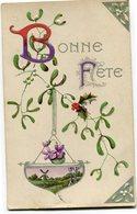 CPA - Carte Postale - Belgique - Fantaisie - Bonne Fête - 1908 (CP3051) - Fête Des Mères