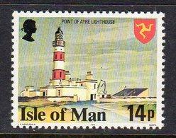 GB ISLE OF MAN IOM - 1978 AYRE LIGHTHOUSE 14p DEFINITIVE STAMP FINE MNH ** SG 121 - Isle Of Man