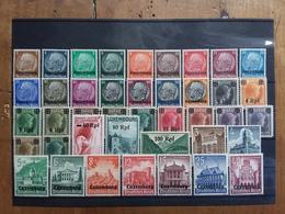 LUSSEMBURGO - Occupazione Tedesca 1940 Nn. 1/41 Nuovi * (manca 1 Valore - 1 Valore Senza Gomma) + Spese Postali - 1940-1944 Occupazione Tedesca