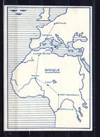 1937    Carte Postale, 1er Vol Groupé Belgique-Congo - Cartes Postales [1934-51]