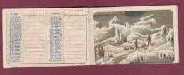 130518 - EXPEDITION POLAIRE Explorateur ABRUZZI GUERINI CAGNI CAVALLI étoile Polaire STELLA POLARE Calendrier 1901 - Spedizioni Artiche