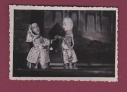 130518 - PHOTO Spectacle Théâtre Guignol - Prisonnier GUERRE 1939 45 OFLAG VIII GEPRUFT 12 Huon De Bordeaux Fille Sultan - Théâtre
