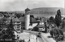 ZÜRICH - WOLLISHOFEN → Hauptstrasse Mit Tram Anno 1949   ►RRR◄ - ZH Zurich