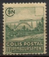 France Colis-Postaux N° 180b Valeur Omise Neuf * - Signé Calves Cote 385 Euros - Colis Postaux