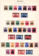 1914-16    Belgique, Occupation Allemande, OC 1 /  OC 37, Cote 395 € - [OC1/25] Gen.reg.