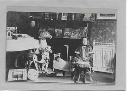 MECHELEN: 1912-  SPEELGOED-SCHOMMELPAARD-POP-POPPEN-MET VOLK-FOTOKAART, - Malines