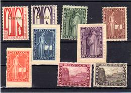 1928    Belgique, Première Orval,  258 / 266  Charnière Ou Sans Gomme, Cote 90 €, - Belgium