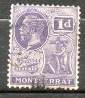MONTSERAT George V 1916 N°58 - Montserrat