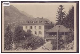 HOTEL DE LA TÊTE NOIRE SUR LA LIGNE MARTIGNY CHAMONIX - TB - VS Wallis