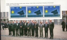 PIA -  IRLANDA - 1992 : Entrata In Vigore Del Mercato Unico Europeo -Foglietto Da Carnet -  (YV Bf Con 813 X 3) - Blocchi & Foglietti