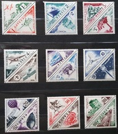 TIM 002 MONACO 1953 - SERIE N° 39A A 55 - 9 DUO 18 TT NEUFS ** - Monaco