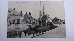 Carte Postale (D8) Ancienne De St Amand Montrond , Ouverture  Dun  Pont Sur Le Canal Du Berry - Saint-Amand-Montrond