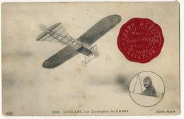 Meeting Deauville Trouville Le Havre Vignette 25/8/1910 Leblanc Sur Monoplan Bleriot ELD - Reuniones