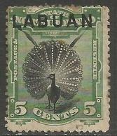 Labuan - 1894 Argus Pheasant 5c MH *    SG 65 - North Borneo (...-1963)