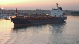 """BATph044 - Chimiquier """" CUMBRIAN FISHER """" (Cie FISHER SHIPPING SERVICES) - Amarré Au Port De Portsmouth - Handel"""