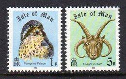 GB ISLE OF MAN IOM - 1980 BOOKLET STAMPS SET FINE MNH ** SG 188-189 - Isle Of Man
