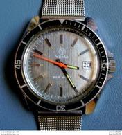 Montre Homme Plongée YEMA  Mécanique Sous - Marine Cadran Gris Fonctionne (36 M/m) - Watches: Old