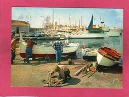 06 Alpes Maritimes, Antibes, Le Port, Animée, Yatch, Bateau De Pêche, 1963,  (Yvon) - Autres