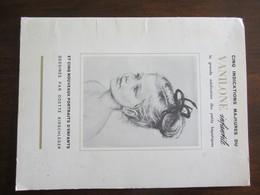PUBLICITE MEDICALE 5 PORTRAITS D ENFANTS DESSINES PAR ODETTE KIRSCHLEGER - Advertising