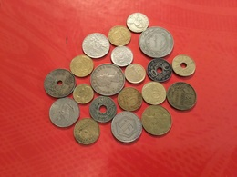 LOT DE 20 Pièces Voir Scan - Münzen & Banknoten