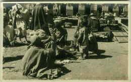 ETHNIC BLACK AFRICA SCENES - SOMALIA - MARKET - RPPC 1920s (3100) - Somalia