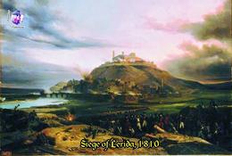 Carte Postale, Célébrités, Napoleon, Napoleonic Battles, 1810, Siege Of Lerida - Hommes Politiques & Militaires