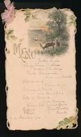 MENU  1902 - 16 X 9.5 CM - Menú