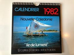 Nouvelle-Calédonie - Calendrier 1982 - 12 Cartes Postales Détachables - Calendars